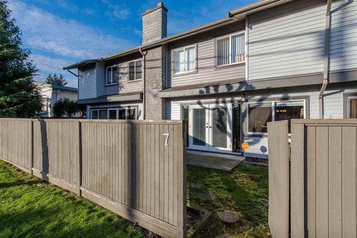 7 46689 FIRST AVENUE - Chilliwack E Young-Yale Townhouse for sale, 3 Bedrooms (R2329104)