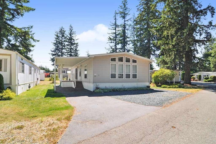 46 20071 24 AVENUE - Brookswood Langley Manufactured for sale, 2 Bedrooms (R2488489)