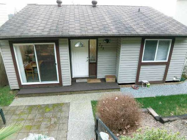 723 Appleyard Ct (Upper) - Port Moody Centre House/Single Family for sale, 2 Bedrooms