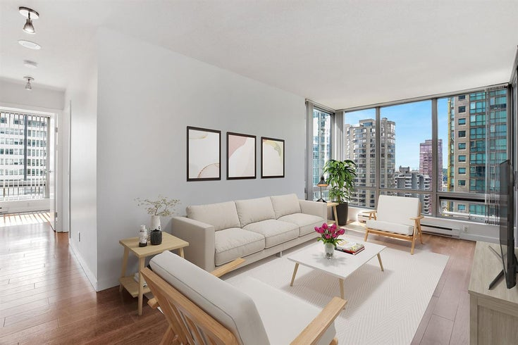 2008 1288 W GEORGIA STREET - West End VW Apartment/Condo for sale, 2 Bedrooms (R2607398)
