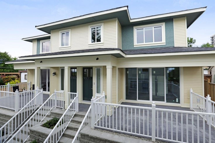 2 214 W 6TH STREET - Lower Lonsdale 1/2 Duplex for sale, 4 Bedrooms (R2359302)