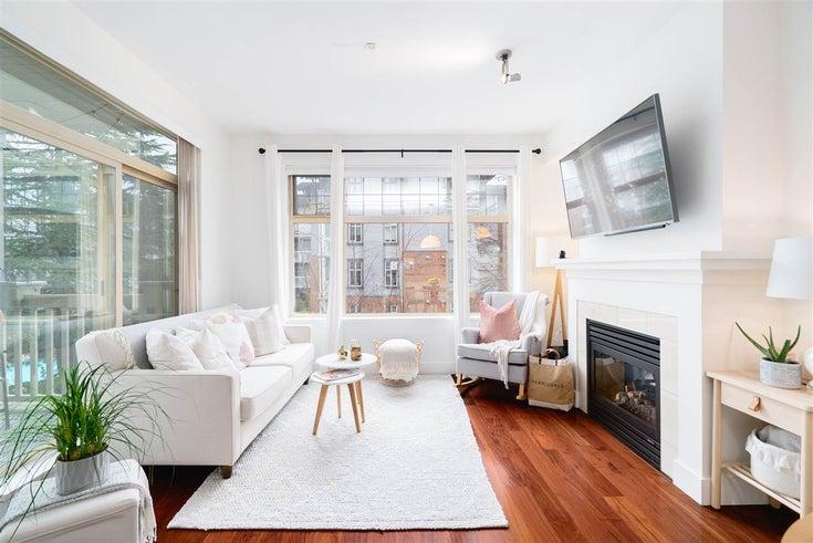 322 2083 W 33RD AVENUE - Quilchena Apartment/Condo for sale, 2 Bedrooms (R2444250)