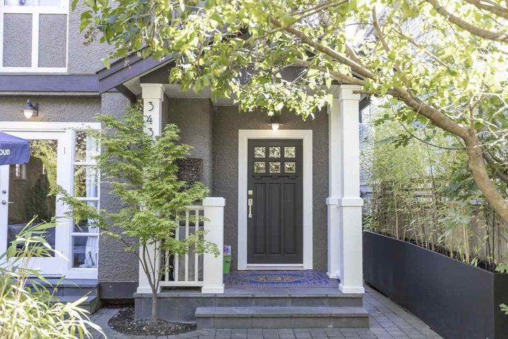 3430 W 7TH AVENUE - Kitsilano 1/2 Duplex for sale, 2 Bedrooms (R2509291)