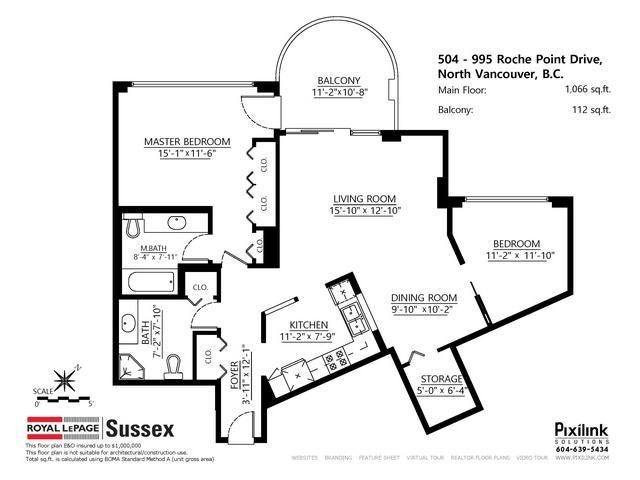 # 504 995 ROCHE POINT DR - Roche Point Apartment/Condo for sale, 2 Bedrooms (V1114084)