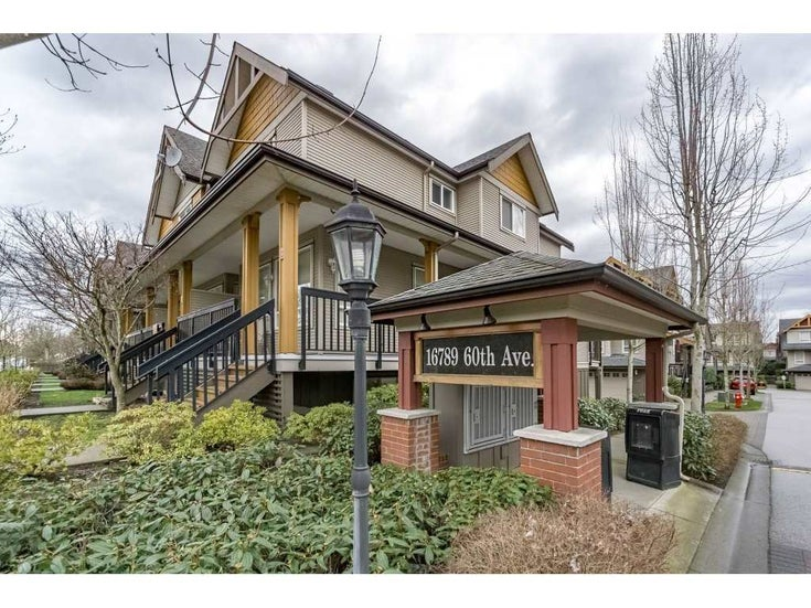 49 16789 60 AVENUE - Cloverdale BC Townhouse for sale, 2 Bedrooms (R2148899)