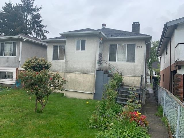 855 NANAIMO STREET - Hastings for sale(R2577016)