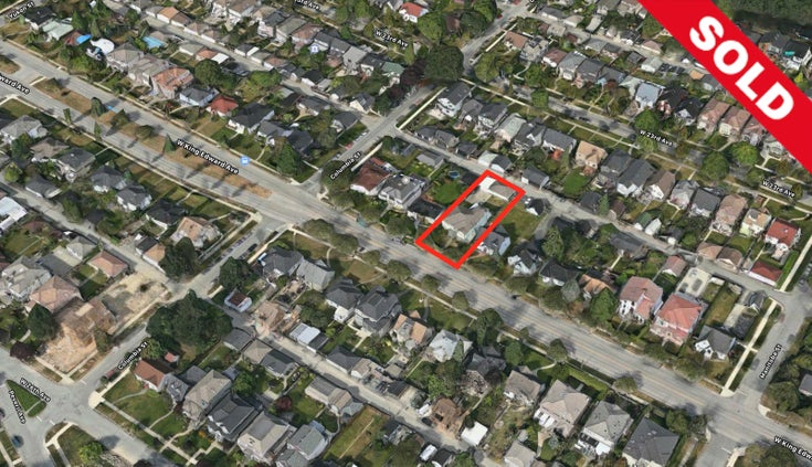 163 W KING EDWARD AVENUE - Cambie Land for sale