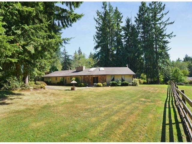 25282 76TH AV - County Line Glen Valley House with Acreage for sale, 3 Bedrooms (F1319938)