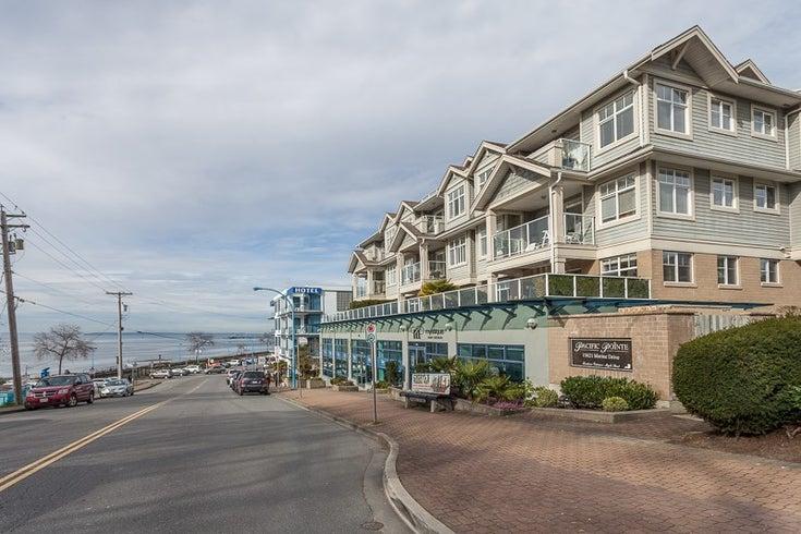 306 15621 MARINE DRIVE - White Rock Apartment/Condo for sale, 2 Bedrooms (R2052795)