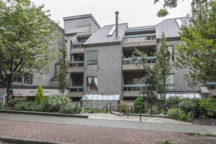 321 1500 PENDRELL STREET - West End VW Apartment/Condo for sale, 1 Bedroom (R2530865)