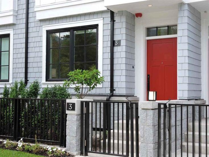 3 1133 RIDGEWOOD DRIVE - Edgemont Townhouse for sale, 3 Bedrooms (R2357286)