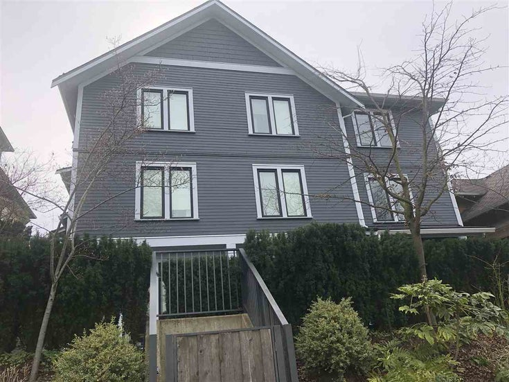 4 1540 GRANT STREET - Grandview Woodland Townhouse for sale, 2 Bedrooms (R2447496)