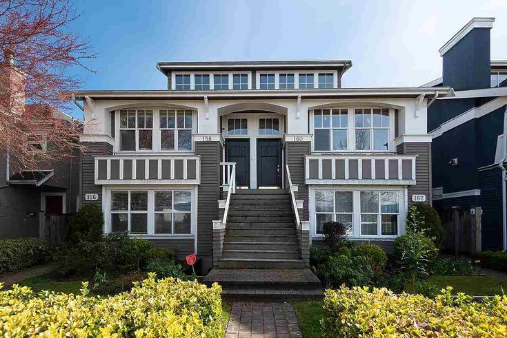 156 W 16TH AVENUE - Cambie Townhouse for sale, 3 Bedrooms (R2567864)
