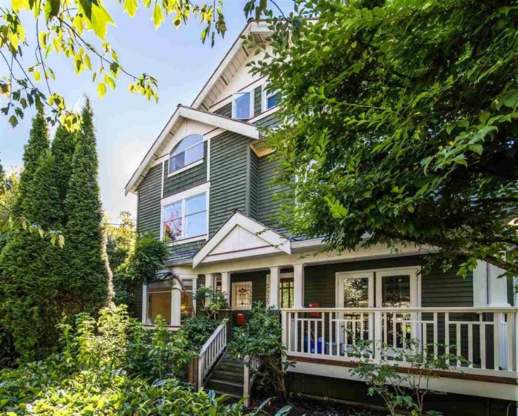 2327 Stephens Street - Kitsilano Townhouse for sale, 3 Bedrooms (R2503580)