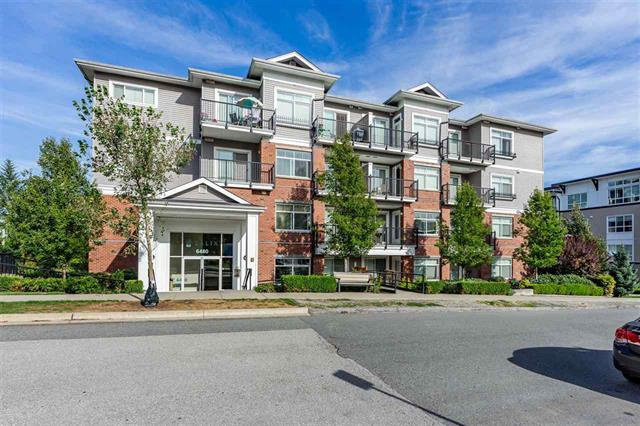 204-5480 195A Street, Cloverdale - Clayton Apartment/Condo for sale, 1 Bedroom (R2491459)