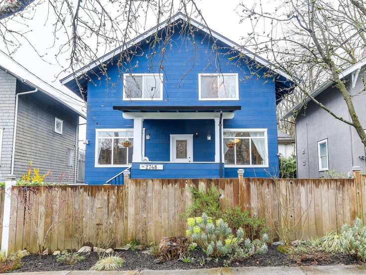 2748 St. George Street - Mount Pleasant VE House/Single Family for sale(R2157162)
