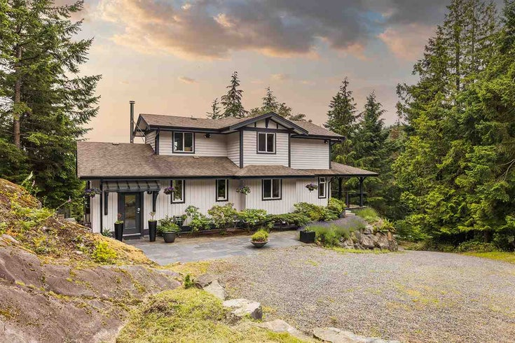 341 Aerie Tree Lane - Bowen Island House/Single Family for sale, 4 Bedrooms (R2474375)