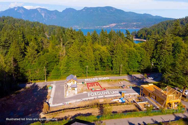 Lot 4 Foxglove Lane - Bowen Island Land for sale(R2327077)