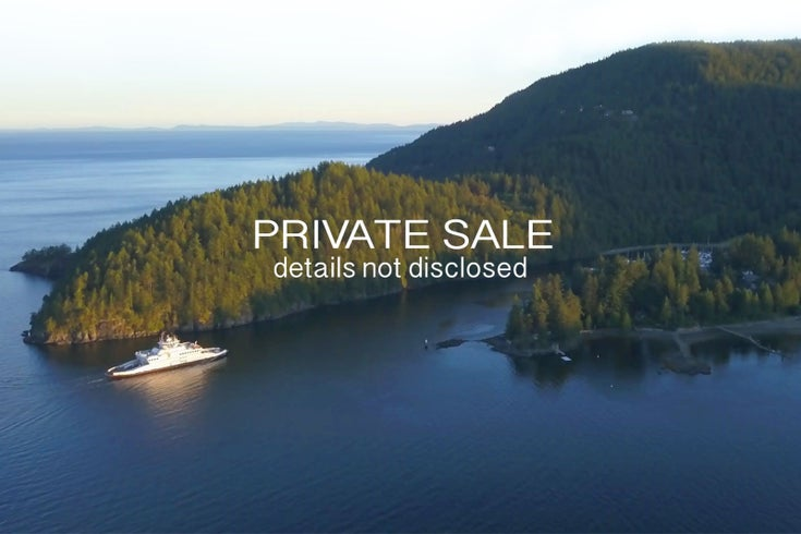 Not Disclosed - Bowen Island House/Single Family for sale