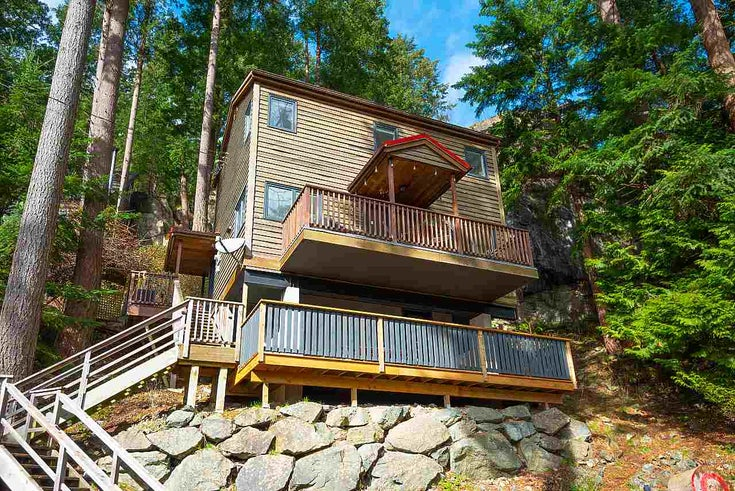 202 Highland Trail - Bowen Island House/Single Family for sale, 2 Bedrooms (R2547339)