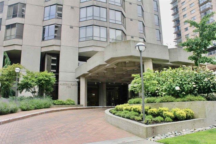 504 738 BROUGHTON STREET - West End VW Apartment/Condo for sale, 2 Bedrooms (R2472743)