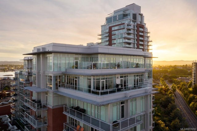 1004/1005 100 Saghalie Rd - VW Songhees Condo Apartment for sale, 3 Bedrooms (877059)
