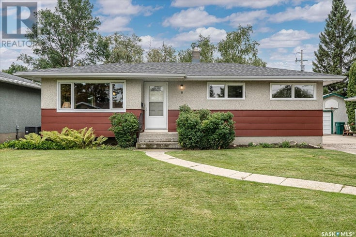 16 Cantlon CRES - Saskatoon House for sale, 4 Bedrooms (SK868295)