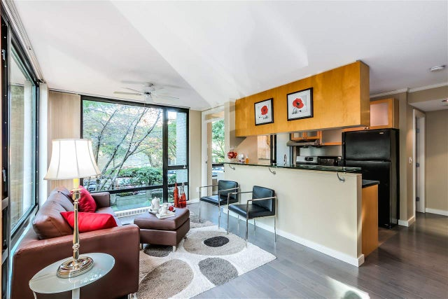 207 1003 BURNABY STREET - West End VW Apartment/Condo for sale, 1 Bedroom (R2005374) #4