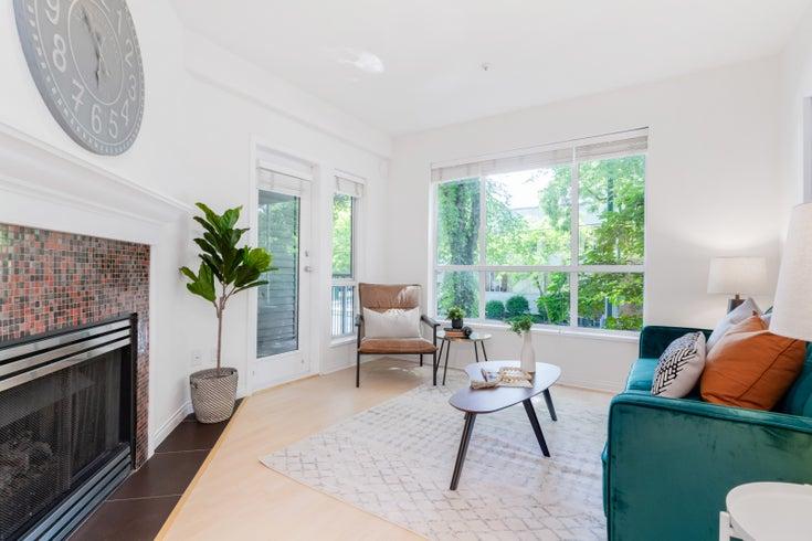 205 2755 MAPLE STREET - Kitsilano Apartment/Condo for sale, 2 Bedrooms (R2594837)