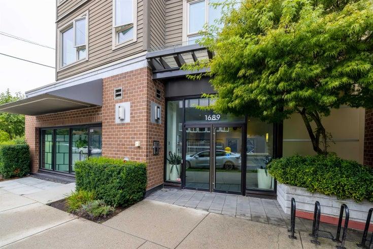 305 1689 E 13TH AVENUE - Grandview Woodland Apartment/Condo for sale, 1 Bedroom (R2621913)