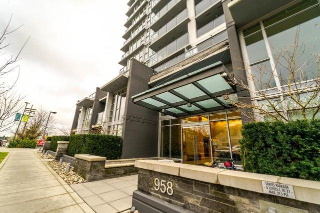 1406 958 RIDGEWAY AVENUE - Central Coquitlam Apartment/Condo for sale, 1 Bedroom (R2624468)