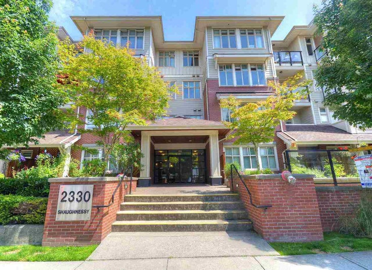 103 2330 SHAUGHNESSY STREET - Central Pt Coquitlam Apartment/Condo for sale(R2470843)