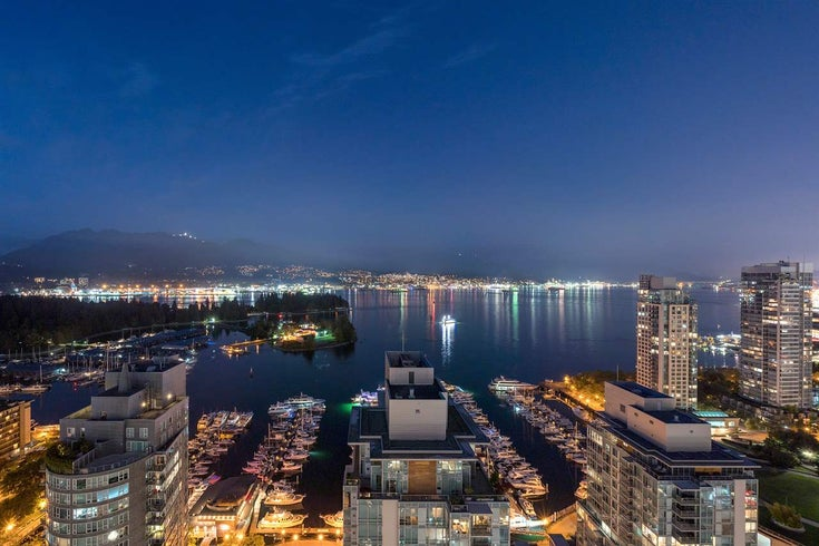 3201 1499 W PENDER STREET - Coal Harbour Apartment/Condo for sale, 3 Bedrooms (R2466343)