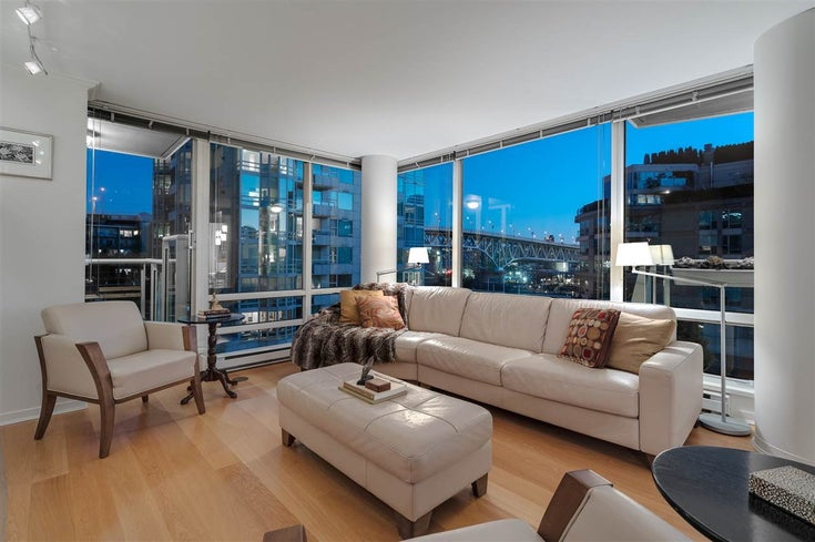 606 1500 HORNBY STREET - Yaletown Apartment/Condo for sale, 2 Bedrooms (R2469325)
