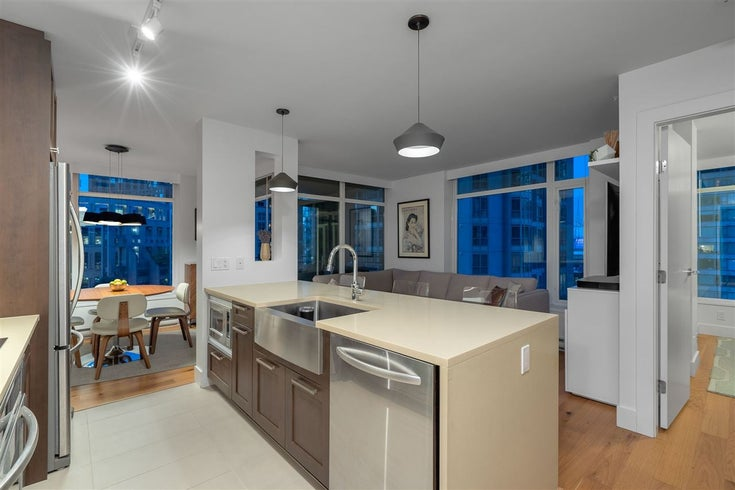 1006 888 HOMER STREET - Downtown VW Apartment/Condo for sale, 1 Bedroom (R2473203)