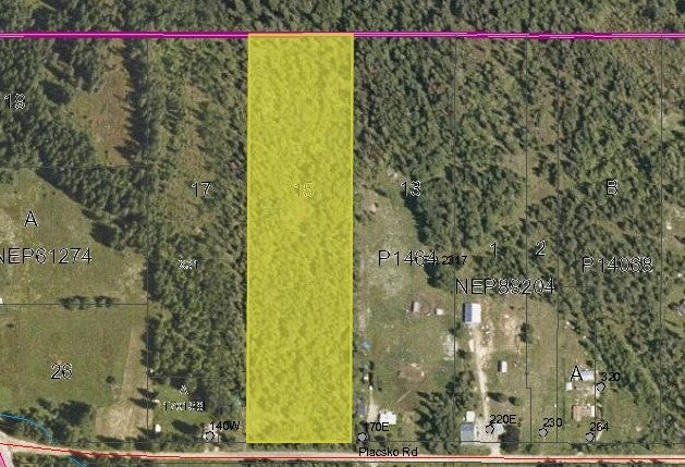 Lot 15 Placsko Rd - Creston Vacant Land for sale(2451914)