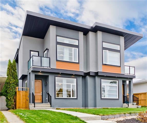 2806 42 ST SW - Glenbrook Semi Detached for sale, 4 Bedrooms (C4272415)