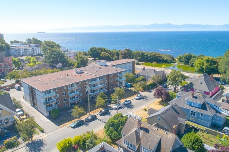 206 25 Government St - Vi James Bay Condo Apartment for sale, 1 Bedroom (850143)