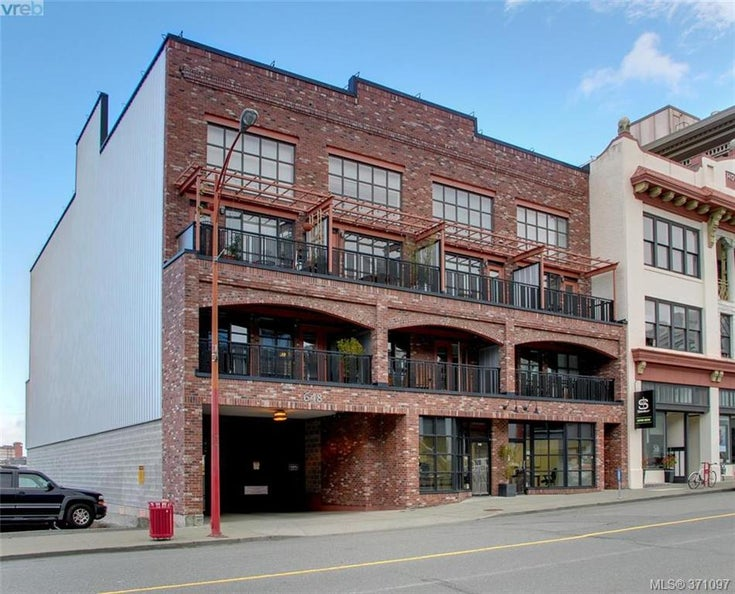 304 648 Herald St - Vi Downtown Condo Apartment for sale, 1 Bedroom (371097)