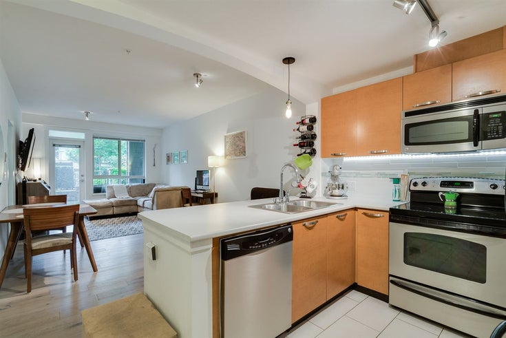 106 7478 BYRNEPARK WALK - South Slope Apartment/Condo for sale, 2 Bedrooms (R2204239)