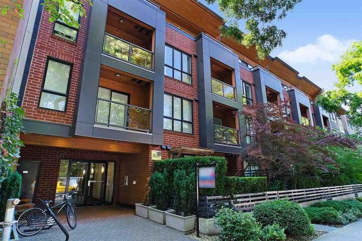 203 2020 W 12TH AVENUE - Kitsilano Apartment/Condo for sale, 1 Bedroom (R2487170)