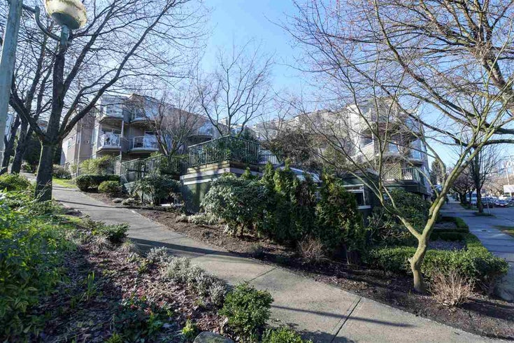 302 908 W 7TH AVENUE - Fairview VW Apartment/Condo for sale, 1 Bedroom (R2439600)