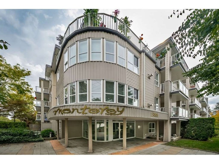 309 1588 BEST STREET - White Rock Apartment/Condo for sale, 2 Bedrooms (R2401846)