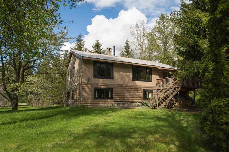 1718 Sea To Sky Highway - Pemberton House with Acreage for sale(R2162053)