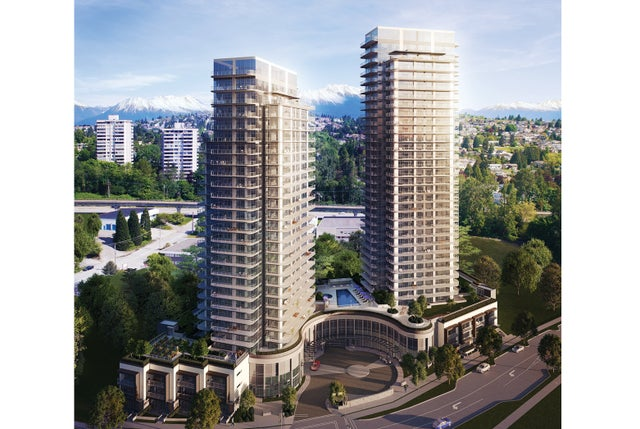 ÉTOILE - 2bdr + den @ **06 - 2360 Douglas Road, Burnaby, BC - Brentwood Park Apartment/Condo for sale, 2 Bedrooms