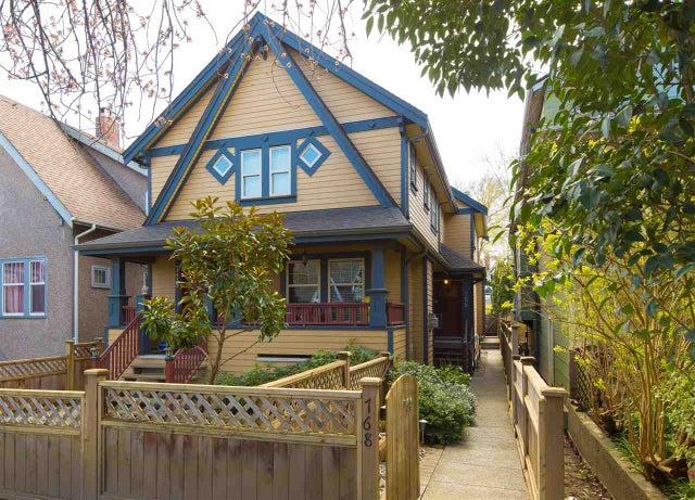 768 E 11TH AVENUE - Mount Pleasant VE 1/2 Duplex for sale, 4 Bedrooms (R2052865)