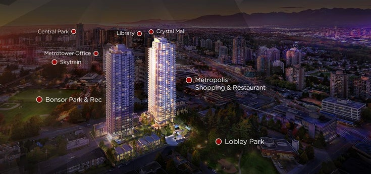 2008 6538 NELSON AVENUE - Metrotown Apartment/Condo for sale, 1 Bedroom (R2554675)