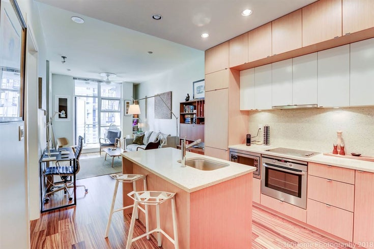 606 1205 HOWE STREET - Downtown VW Apartment/Condo for sale, 1 Bedroom (R2268387)