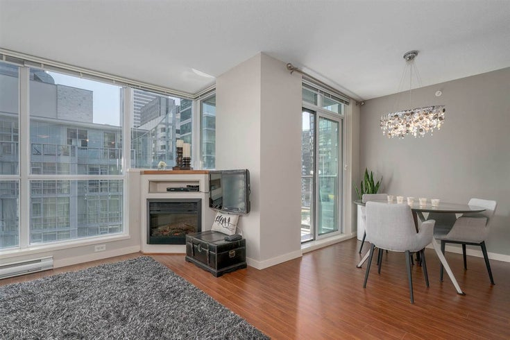 1804 1189 MELVILLE STREET - Coal Harbour Apartment/Condo for sale, 1 Bedroom (R2269083)