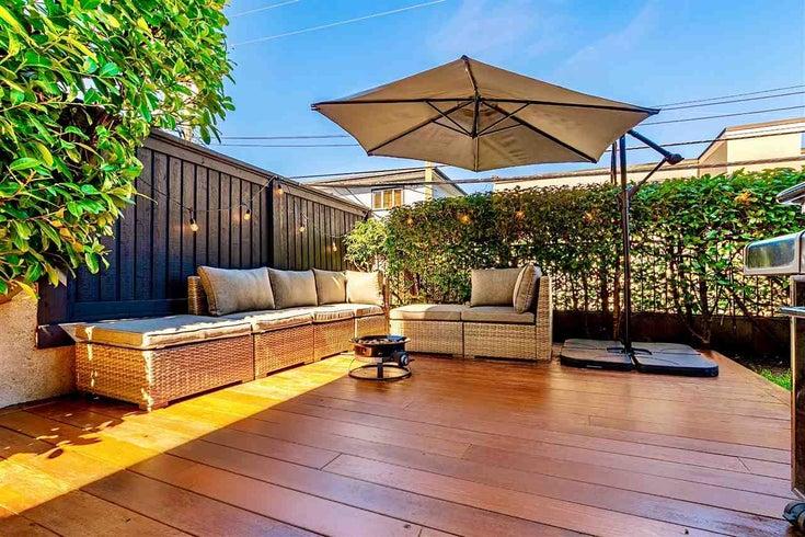103 2239 W 1ST AVENUE - Kitsilano Apartment/Condo for sale, 2 Bedrooms (R2567222)